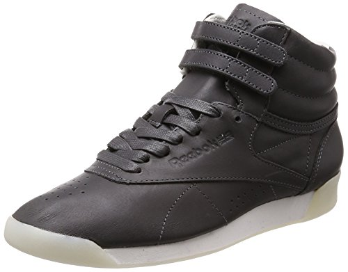 Reebok Freestyle Hi Face 35 Femme Baskets Mode Gris Noir OtCgJp5I