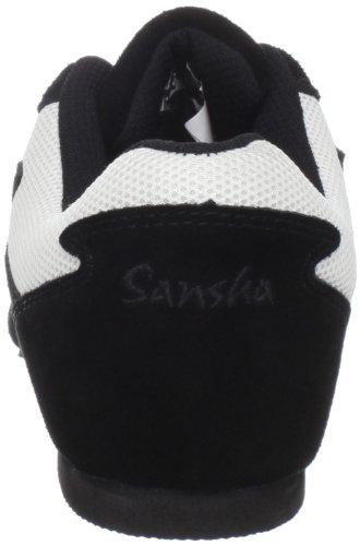 Shoe Salsette Dance 1 White Women's Sansha black aOwxII