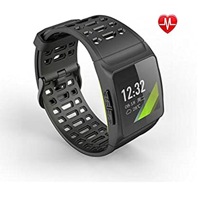 YXINY Smart Sports Wristband Activity Tracker Smart Bracelet 1 3 Inches IPS Color Screen IP67 Waterproof Professional Dynamic Heart Rate support HRV Analysis ECG Monitoring Built-in GPS Profes Estimated Price £86.49 -