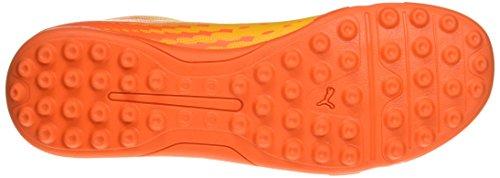 Puma Herren evoSPEED 17.5 TT Fußballschuhe, 43 EU Gelb (ultra yellow-peacoat-orange clown fish 03)