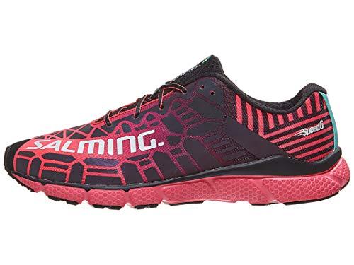 Speed Black 6 Black Magenta Women Salming Shoe Coral bright wRqgwF