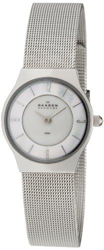 Skagen Women's 233XSSS Grenen Stainless Steel Mesh Watch