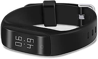Yuntab SmartBand C5-Smart Bracelet (Ip65 Waterproof, 24-h ...