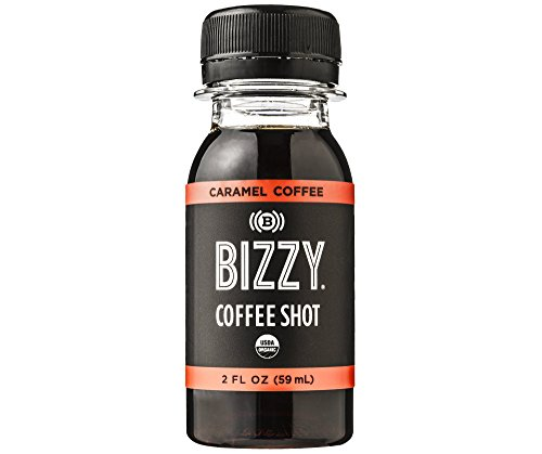 Bizzy Coffee Shot - Caramel 12 Pack - USDA Organic