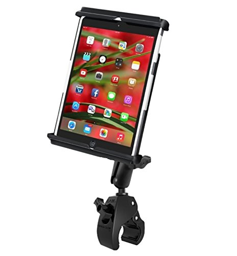 Large Tough Claw Rail Handlebar Mount Holder Kit fits Apple iPad Mini 1 2 & 3 w/Case, Skin or Sleeve