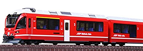 N scale Kato 10-1319 Rhaetian Railway Bernina Express 4 Cars Add-on Set