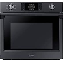 "Samsung Appliance NV51K7770SG 30"" 5.1 cu. ft. Total Capacity Electric Single Wall Oven with Top Broiler, in Black Stainless Steel"