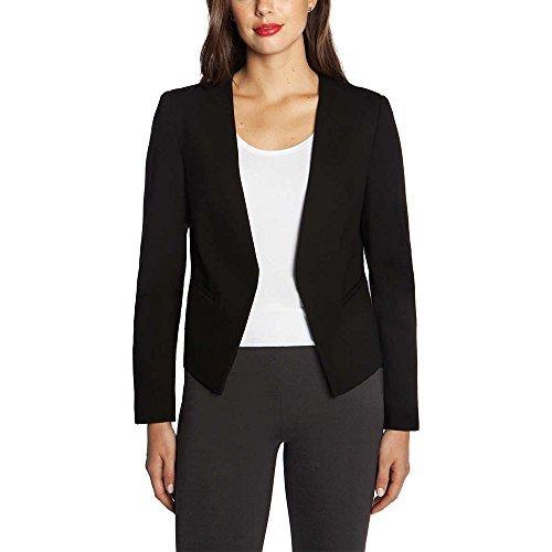 Mario Serrani Ladies' Blazer With Stretch (Black, Medium)
