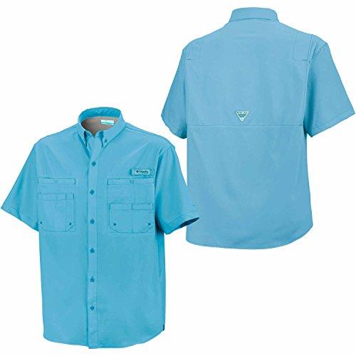 Columbia Tamiami II Short Sleeve Shirt, Bounty Blue, Large