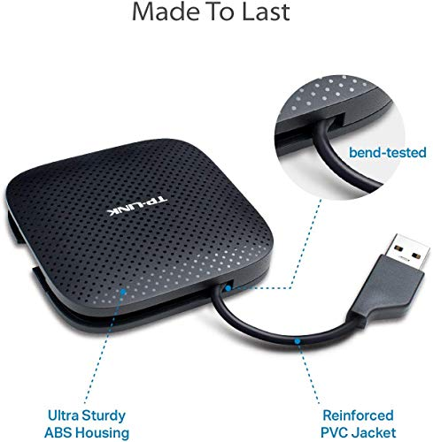 TP-Link UH400 4-Port USB Hub (Black)