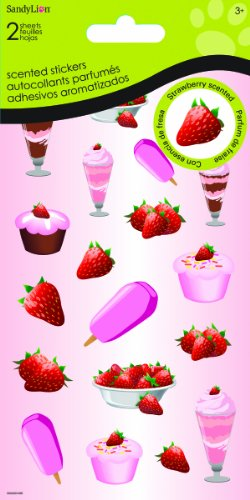 - Sandylion Strawberry Cake and Ice Cream Dimensional Stickers for Scrapbooking