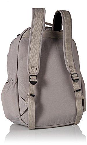 41ryrltDMvL - Kipling Seoul Go Laptop Backpack, Slate Grey , One Size
