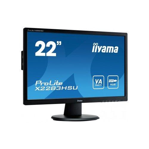 iiyama X2283HSU-B1DP 55,9 cm (22 Zoll) Monitor (VGA, DVI, Display Port, 5 milliseconds)