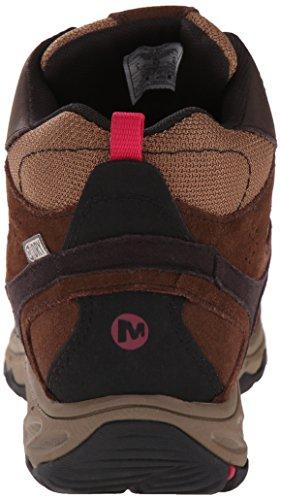 Merrell Kimsey Foncé Femme Mid Chaussures Marron Marche WTPF Marron Bébé Marron xxfgO