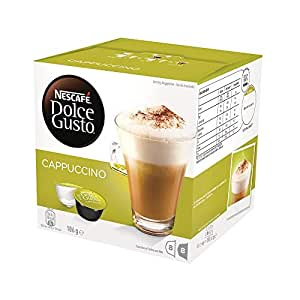 NESCAFÉ Dolce Gusto Cappuccino Coffee Capsules, 16 Capsules (8 Serves) 186g