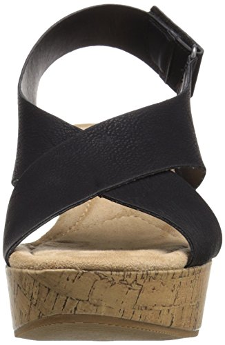 outlet classic CL by Chinese Laundry Women's Dream Girl Wedge Sandal Black Nubuck free shipping 100% authentic cheap sale tumblr b8YaUBNUQ