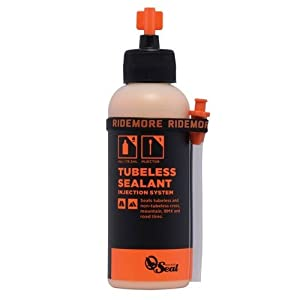 OrangeSealCycling Tubeless Tire Sealant with Injector, 4 Ounce
