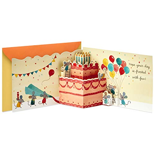 Hallmark Paper Wonder Pop Up Birthday Card (Birthday ()