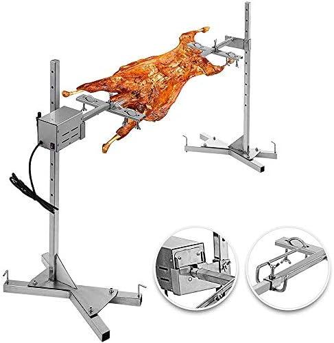 Ete Etmate Bbq Elektrische Rotisserie Kit Automatische 15 Watt Universal Rotisserie Kit Outdoor Großen Grill Rotisserie Spieß Roaster Rod Großen Grill Für Party Camping Karneval Garten