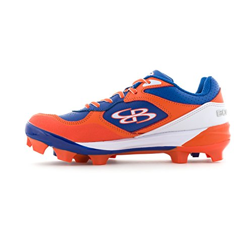 18 Cleats Options Orange Sizes Multiple Women's Molded Royal Color Boombah Endura qIxRF6wRa