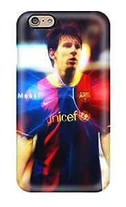 New Premium Flip Case Cover Lionel Messi Merchandise Skin Case For Iphone 6