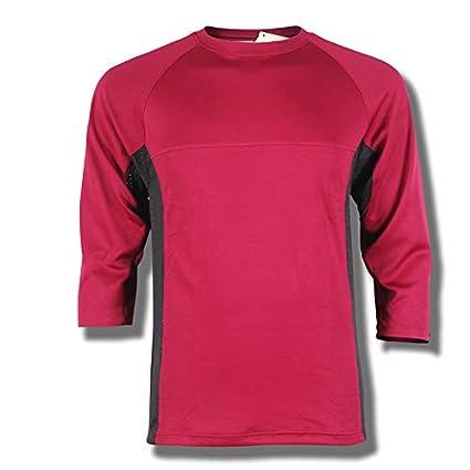 T-Shirt Hommes de VTT Mountain Bike//Cross Respirant et S/échage Rapide Maillot de Manches Courtes prze Baleine Ski Homme Downhill Jersey Rouge Enduro//Offroad//Enduro//Quad Cross V/êtements