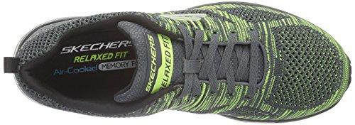 Skechers Herren Skech-Air Infinity-Rapid Fire Turnschuhe grau (CCLM)