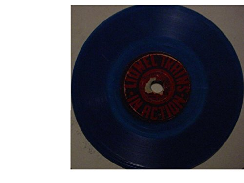 Signal Lionel Trains (Rare Original 4 Inch Blue Disc Record Single - Lionel Trains Whistle Signals / Lionel Trains In Action - Narrator Bill Stern Sports Commentator - 1950)