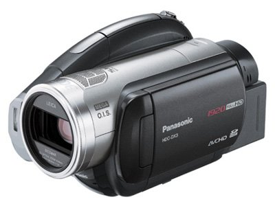 パナソニック デジタルハイビジョンDVDビデオカメラ 3CCD搭載 HDC-DX3-S   B000P7UXVY
