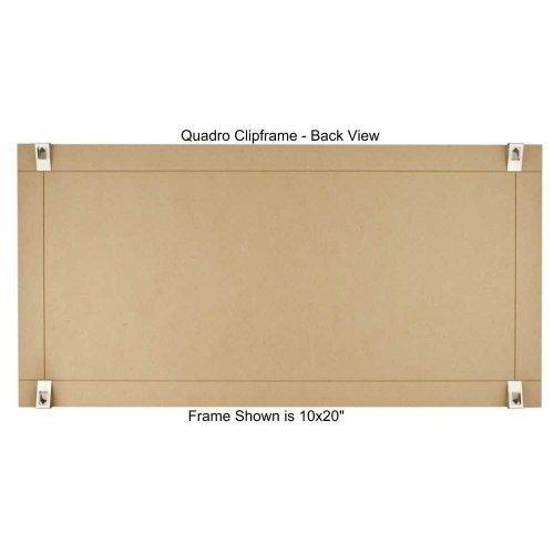 Amazon.com: Quadro Clip Frame 10x20 inch Borderless Frame: Home ...