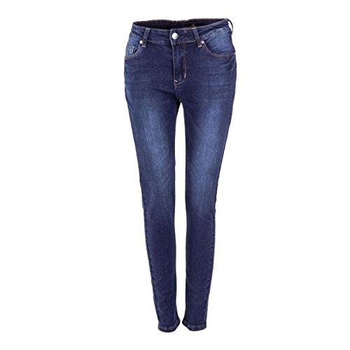 Best Mountain Jean skinny bleu brut femme BLEU FONCE
