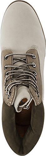 TIMBERLAND BOOT MONTANTE BLANC/BEIGE