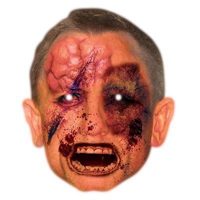 Celebrity Cutouts Zombie Daniel Craig Mask, Halloween, Fancy Dress, Party -
