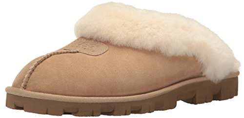UGG Women's Coquette Slipper, Sand, 12 B US ()