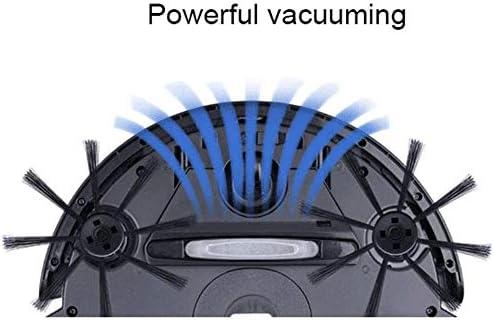 Bdesign Aspirateur Robot, Aspirateur robotique Télécommande 3 Modes de Nettoyage Anti-Chute, Aspiration Ultra-Mince, Solide, sous Vide Robot Auto-nettoyant de Charge