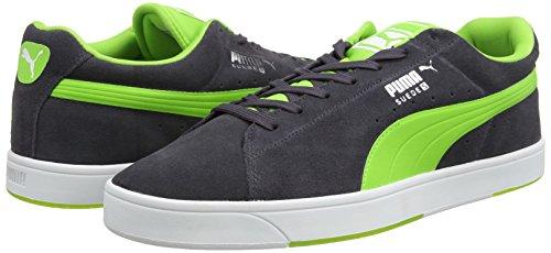 Puma , Herren Sneaker Gray - Blu Limoges Periscope/Jasmine Green