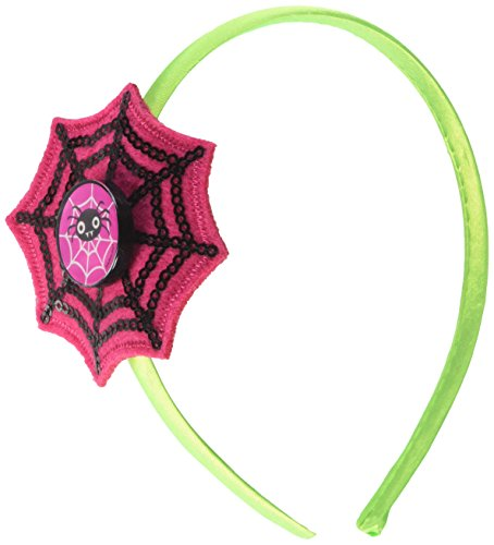 Funny Family Costumes Friendly (Family Friendly Halloween Trick or Treat Spider Web Sequined Fashion Headband Party Favour, Plastic, 5
