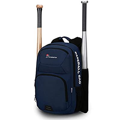 Mardingtop Baseball Bags-Backpack for Baseball, T-Ball & Softball Equipment & Gear for Kids, Youth, and Adults | Holds Bat, Helmet, Glove, & Shoes in Separate Shoe Compartment