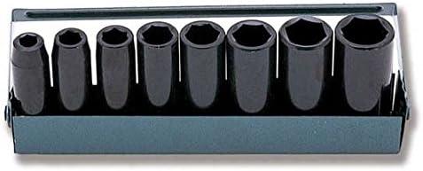 """3/8""""(9.5mm)ディープソケットセット8PC(インチ)"""
