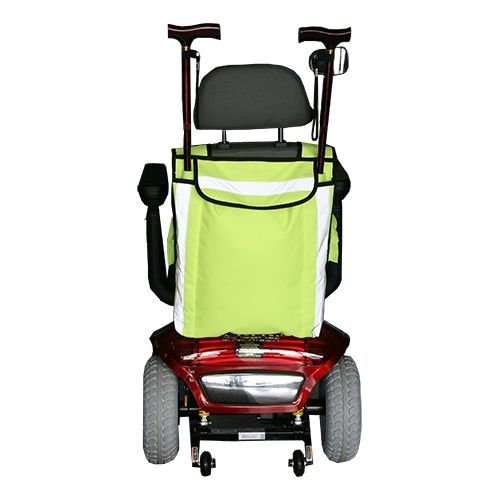 HIGH VISIBILITY MOBILITY SCOOTER BAG- WHEELCHAIR BAG - WALKING STICK CARRIER by Kozee Komforts: Amazon.es: Salud y cuidado personal