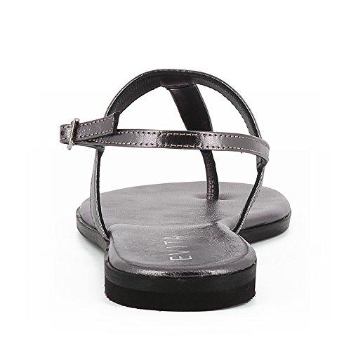 Cuir Lisse Femme Sandale Bronze Shoes Olimpia Evita pTXqw0IO