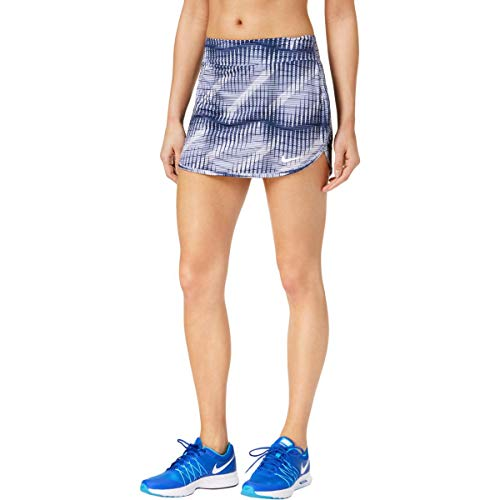 (Nike Womens Dri-Fit Printed Skort Purple M)