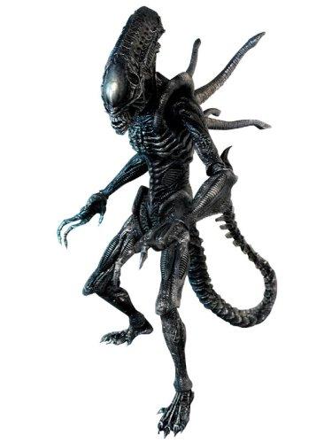Alien Vs. Predator Requiem Hot Toys Movie Masterpiece 16 Inch Model Figure Alien with Facehugger