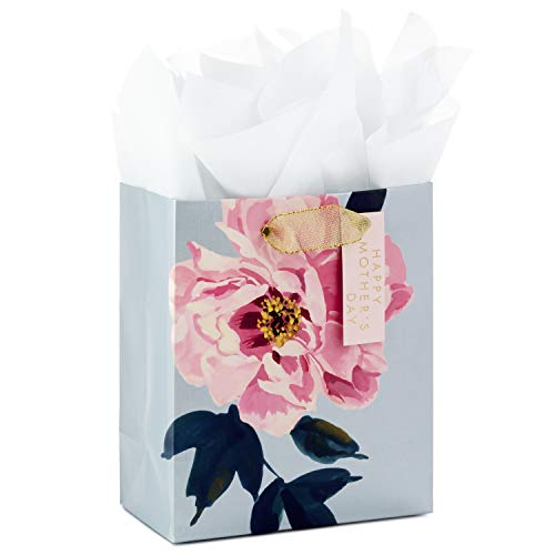 (Hallmark Small Mother's Day Gift Bag with Tissue Paper (Peony))