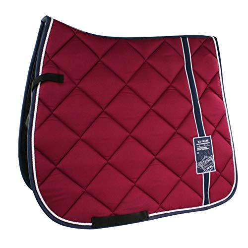 EQuest Saddle Cloth Cotton Maxx Globe Plus Bordeaux Size Colour DR Bordeaux