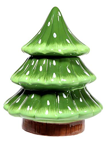 Barely Winter Christmas Tree Cookie Jar 10