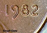SCARCE 1982 Zinc Lincoln Cent -- Small Date