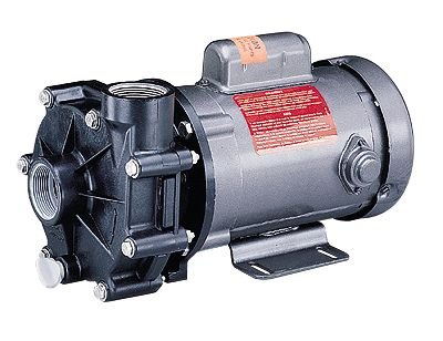 Noryl Corrosion-Resistant Mechanically Coupled Pump, 35 GPM, 230/460 VAC
