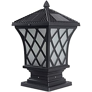 Amazon.com : The Extra Large Solar Post Cap Lights, Or ...