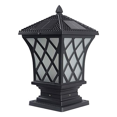 Outdoor Solar Lights For Columns in US - 4